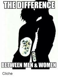 Men And Women Memes - the difference between men women cliche women meme on sizzle