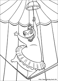 followers king julien madagascar coloring pages king