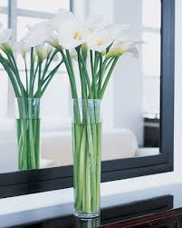 Long Vase Centerpieces by Tall Vases With Long Stemmed Flowers Simple And Elegant