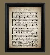 how great thou art hymn lyrics sheet music art hymn art zoom