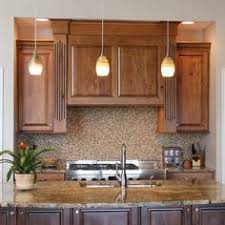 Beech Wood Kitchen Cabinets by A Wood Hood Cabinet With Broan Insert Above A 5 Burner 30