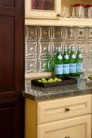 superb tin tiles backsplash decorating ideas gallery in kitchen