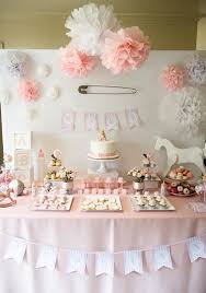 baby shower theme ideas for girl enchanting baby shower decoration ideas for a girl 19 for thank