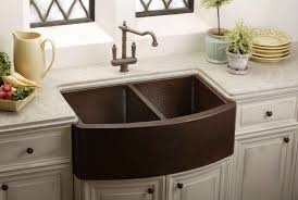 Farm Sink Kitchen Rustic Country Copper Kitchen Sinks Randy Gregory Design