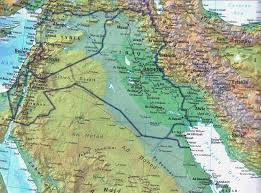 Political Map Of Asia Maps Of Iraq Detailed Map Of Iraq In English Tourist Map Of