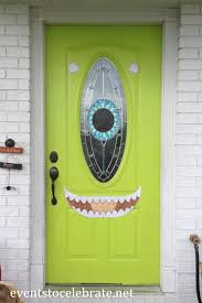 halloween monster window silhouettes halloween door u0026 window decorations events to celebrate