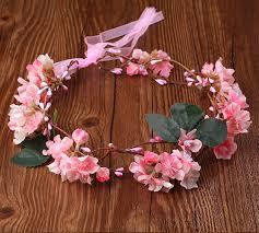 handmade fabric flower crowns headband wedding