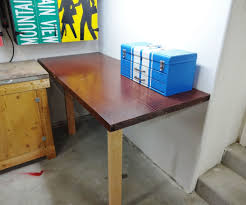 make a corner desk easy collapsible worktable 13 steps with pictures