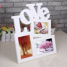 Home Decor Photo Frames 1pcs New Lovely Hollow Wooden Family Photo Picture Frame