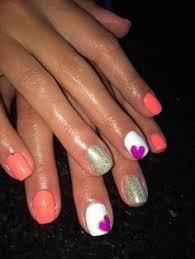 summer shellac nails my nail art pinterest summer shellac