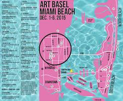 Miami Design District Map by Avoid Art Basel Traffic Hell