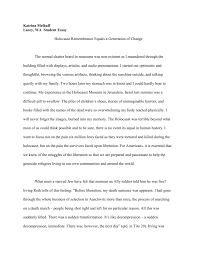 essay about the holocaust police specialist cover letter