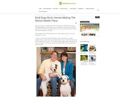Home Life by Ultimate Home Life April 2017deaf Dogs Rock Heroes Making The