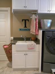 Laundry Cabinet With Hanging Rod 77 Best Laundry Room Ideas Images On Pinterest Laundry Rooms