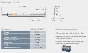 somfy lt30 rts motor light duty blind motors florida automated