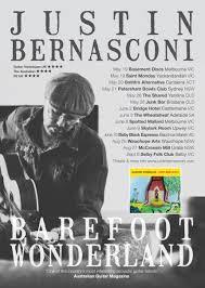 barefoot wonderland tour dates justin bernasconi