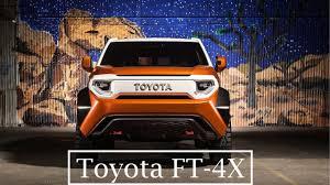 fj cruiser msrp 2018 toyota ft 4x overview better than fj cruiser youtube