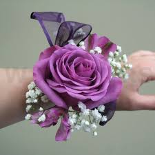 purple corsage purple flowers for corsages flowers product prom corsage with