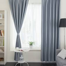 livingroom curtain thermal living room or balcony solid color gray curtains