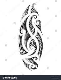 tattoo maori vector designs art tribal stock vector 666679750