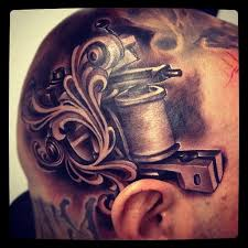 yeah head tattoos and the skulls that have them