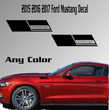 mustang 2 3 turbo 2015 2016 2017 ford mustang fender vinyl decal sticker ecoboost