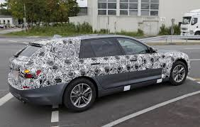 2017 bmw 5 series touring pre production car loses some camo
