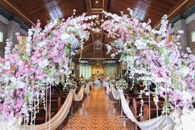 wedding floral arrangements wedding flowers philippines beautiful church wedding flower