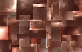 copper tiles for kitchen backsplash hammering your own copper backsplash