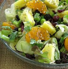 caribbean salad with honey lime dressing the dinner mom