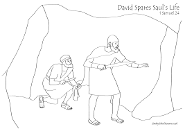 sunday david spares saul u0027s life