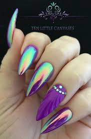 best 25 seashell nails ideas on pinterest mermaid nail art sea