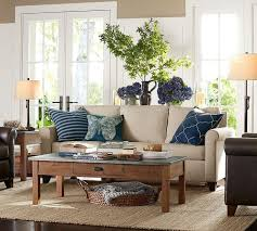 pottery barn livingroom best 25 pottery barn leather sofa ideas on leather