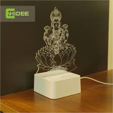 aliexpress com buy cnhidee novel engraved table 3d led light