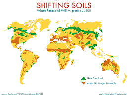 World Map Rainfall by Mapped The Shifting Soils Of 2100 U2013 How We Get To Next