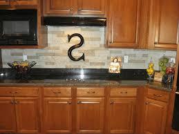 kitchen stone backsplash plain white ceramic vessel sink black