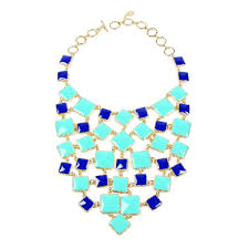 color necklace images Color block bib necklace shop amrita singh jewelry