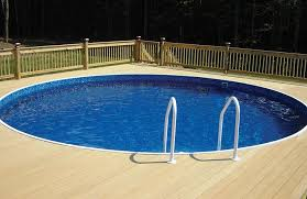 round pool decks is a customer photo of barbados 52 in design ideas