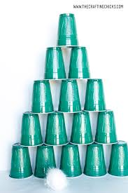 stacking cups christmas tree game the crafting