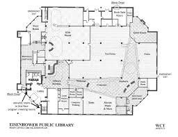 floor plan eisenhower public library district