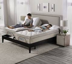 Split Bed Frame Sleep Number Bed Headboard Stylish Split King Size Premium