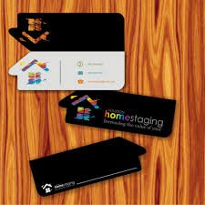 logo business card by johnthomas designs home staging logos