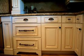 kitchen cabinets handles drawer pulls in middle or top placement of cup pulls on drawers how