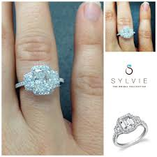 how to out an engagement ring 43 best customize with sylvie images on
