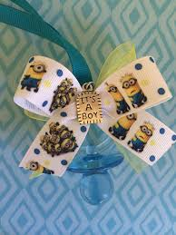 minion baby shower minion baby shower pacifier necklaces by marcenaripartydecor