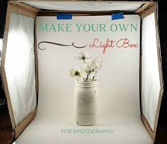 how to make a photo light box diy light box for photography