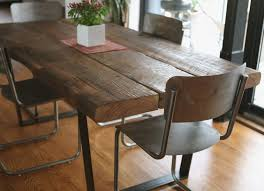 Distressed Dining Room Table by Barn Wood Dining Room Table Karimbilal Net