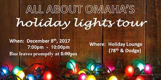 all about omaha holiday lights tour 2017 tickets fri dec 8 2017