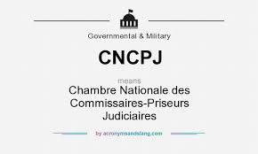 chambre nationale des commissaires priseurs judiciaires what does cncpj definition of cncpj cncpj stands for