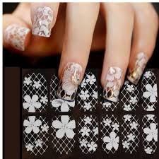 aliexpress com buy sliders for nails 3d lace nail art wraps